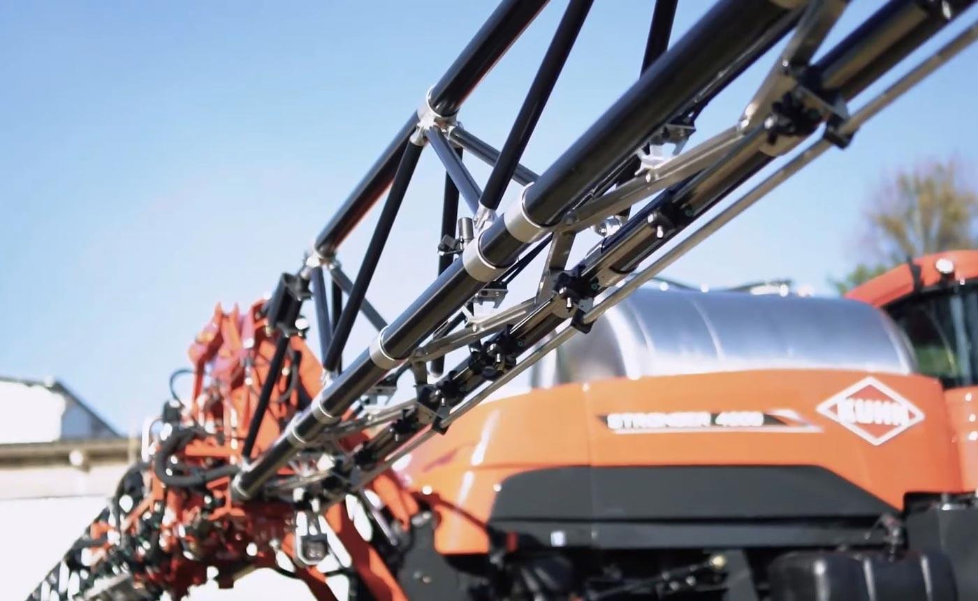 Rampes agricoles carbone